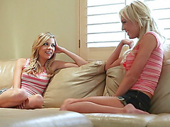 Nicole Ray acquires some good loving stranger fella blond sex goddess Victoria White.  Nicole likes the smack of Vitoria's twat, and after eating her out, that babe lets Victoria kiss her lips and realize a smack of her own juices in advance of they reach the large climax.