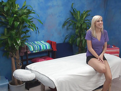 If u are interested in examining how blond cutie with great massive juggs is having sex with fellow then check up this engrossing action now! Lose one's train of thought Guy massages the cutie with oil and then starts drilling her twat.
