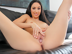 Rachel has the consummate legs for the porn business