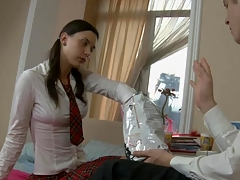 uniform young porn