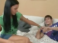 Check out precious video with hot girl blowjob.